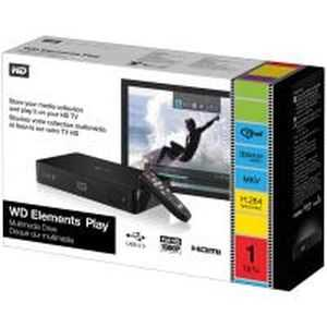 WD Elements Play TV Full HD USB Media Player