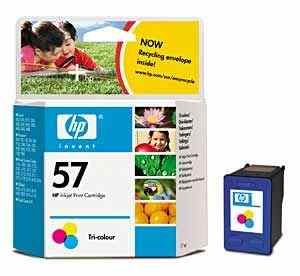 HP 57 (C6657AN) Tri-Color Inkjet Cartridge