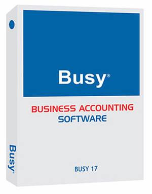 Busy 18.x 1 User Standard Edition GST Ready Accounting Software