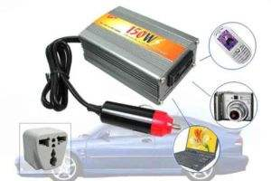 DC 12V to AC 220V CAR Convertor 150 W Watt USB Inverter