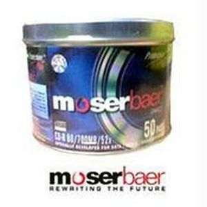 Moser Baer Blank CD-R Pack of 50 PCs
