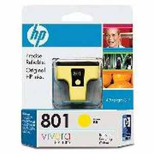 HP 801 (C8773ZZ) Yellow Ink Cartridges