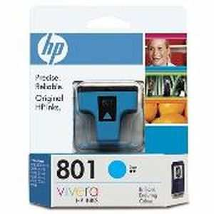 HP 801 (C8771ZZ) Cyan Ink Cartridges