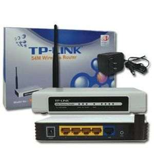 TP-LINK Wireless G Router 4 Port LAN