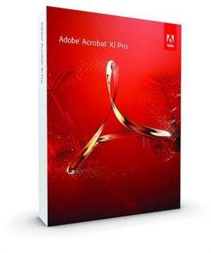 Adobe Acrobat XI Professional 11 ESD Software DVD