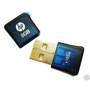 HP 8GB USB Mini Pendrive Flash Drive