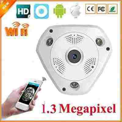 VR WIFI 360 Fisheye IP 3D SURVEILLANCE HOME/OFFICE/Shop HD 1.3 MP Wireless Panoramic 960p CCTV CAMERA