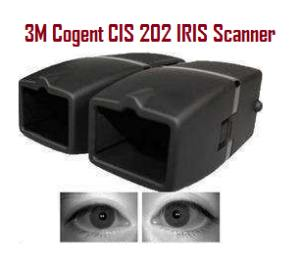 Cogent 3M CIS 202 High Speed Dual IRIS Scanner