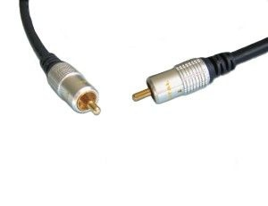 Digital Coaxial Audio Cable S/PDIF Dolby Digital 1.5M