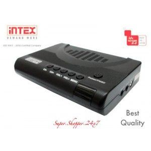 Intex External TV Tunner Box for CRT Monitor