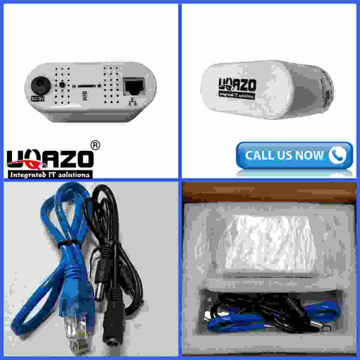 UQAZO 4G ROUTER+WIFI+LAN+Without Adapter+ WATERPROOF All GSM Sim Supported Special for CCTV Mini Modem
