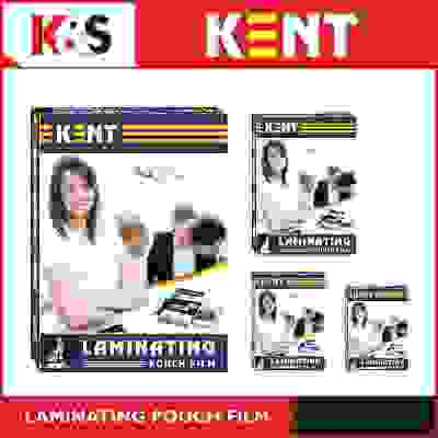 Kent A4 Lamination 125 Micron 100 Sheets Laminating Pouch Film