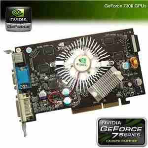 NVIDIA GeForce 7300GS 512MB DDR2 PCI-E Graphics Card