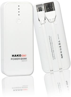 Hako 5600mAh Smart Charger USB Power Bank