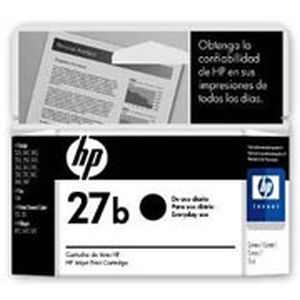 HP 27b Black Inkjet Print Cartridge