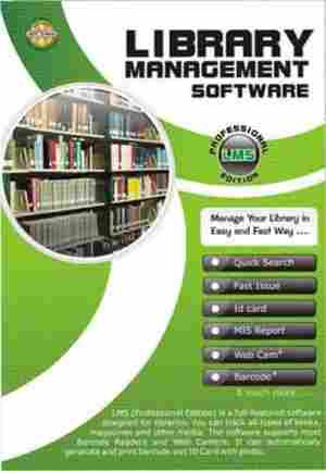 Library Management Software CD