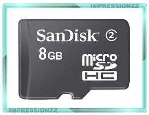 Sandisk 8GB Micro SD Card With 5 Yrs Warranty