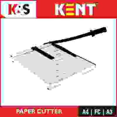 Kent A4 Size Plastic Grip Hand-held Paper Cutter