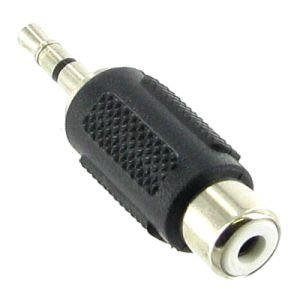 RCA Male to 3.5mm Stereo Female audio adapter converter