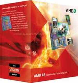 AMD APU A6-3500 Processor CPU with Radeon HD 6530D