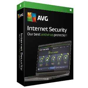 AVG Internet Security 2017 1 PC 1 Year ESD Licence Software