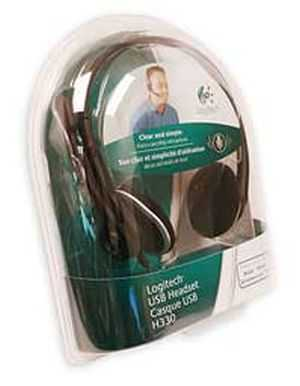 Logitech USB H330 Headset Headphone with MIC