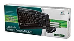 Logitech MK320 Wireless Keyboard Mouse Combo