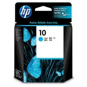 HP 10 C4841AA Cyan Ink Cartridge
