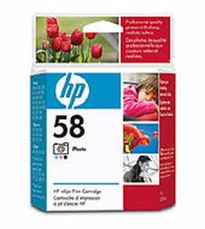 HP 58 Photo Inkjet Print Cartridge (C6658AC)