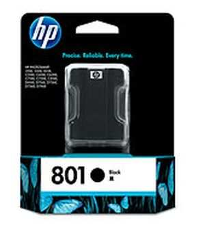 HP 801 (C8721ZZ) Black Ink Cartridges