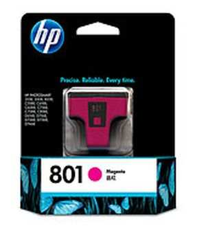 HP 801 (C8772ZZ) Magenta Ink Cartridges