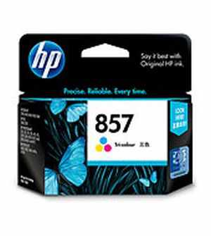 HP 857 (C9363ZZ) Tri-color Inkjet Print Cartridge