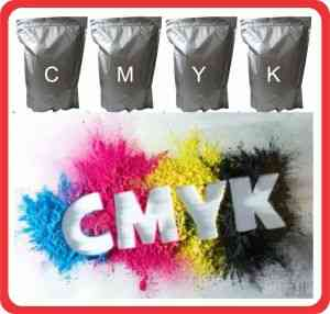 COLOR TONER POWDER HP Color Laserjet Printers with Chip