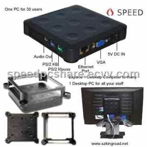 Mini Thin Client USB Workstation shares 1 pc with 40 + USER Virtual PC