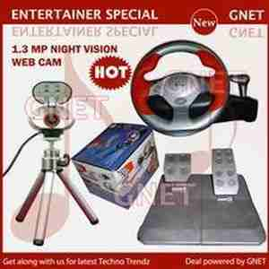 Enter 8 MegaPixel WebCam with Night Vision