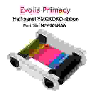 Evolis Half-Panel High Trust Zenius / Primacy YMCKO Color Ribbon