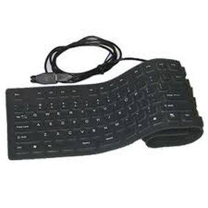 ENTER Flexible Full Keyboard PS2 USB 109 KEYS with NUMERIC KEYPAD