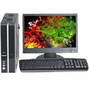 HCL Ezeebee Dual Core Branded Desktop PC Computer