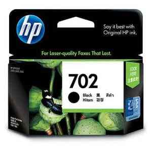 HP 702 Black Inkjet Print Cartridge