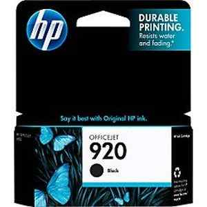 HP 920 XL Large Black Officejet Ink Cartridge