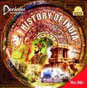 History of India in Eglish Video CD
