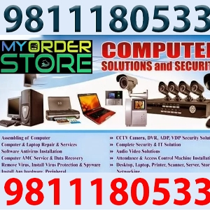 Computer | Laptop | Desktop | PC Hardware Parts Repair Service Support AMC | Networking | Internet Problem Solution Provider | Windows & Antivirus Software Installation Shop Near By Location - Onsite Home/Office