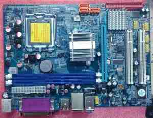 Intel G41 Chipset- LGA 775 Socket DDR 3 OEM Pack Motherboard
