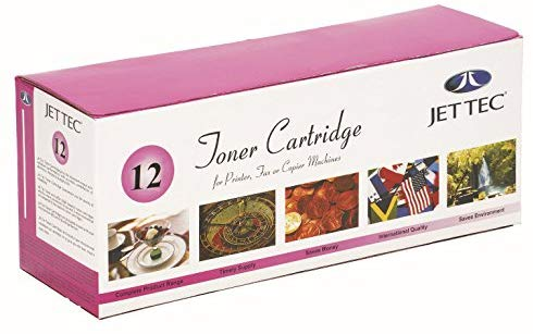 JET TEC12A HP Printer 1010/1012/1015/1018/1020/1022/1005 Compatible Toner Cartridge