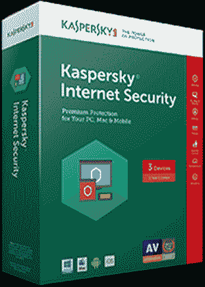 Kaspersky 3 User Multi-Device 2017 Internet Security Software