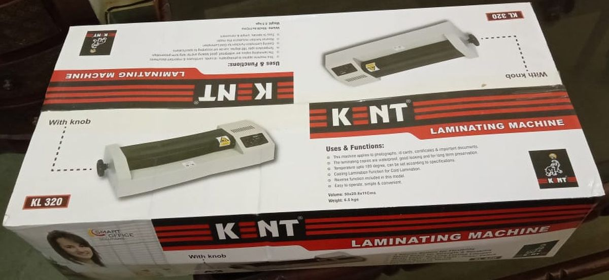 Kent Laminating KL320 A3 Size Metal Heavy Duty Lamination Machine
