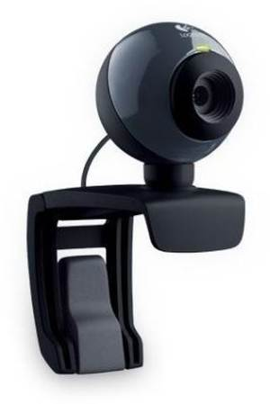 Logitech C160 USB Webcam Web Cam - Built In Mic