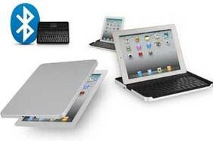 Logitech Bluetooth Keyboard with Case for iPAD2