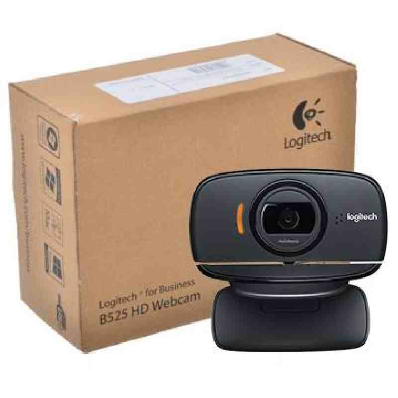 Logitech B525 HD ConferenceCam Video-Calling USB Webcam