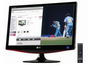 "LG 21.5"" Inch Full HD LCD TV TFT MTV Monitor"